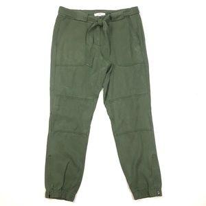 LOFT jogger utility cargo pant skinny ankle crop